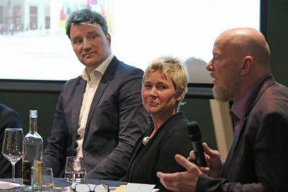 (v.l.n.r.): Dr. Hagen W. Lippe-Weißenfeld, Dr. Astrid Legge, Bernd Lausberg