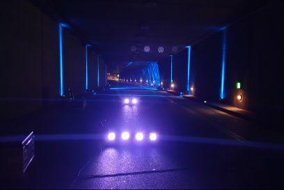 Foto_Lichtkunst im Rheinufertunnel Düsseldorf_Copyright Monheimer Kulturwerke GmbH