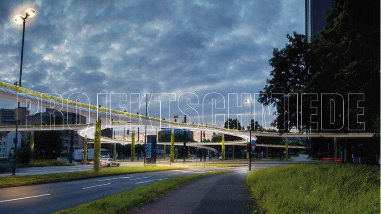Elevated Bike Lane